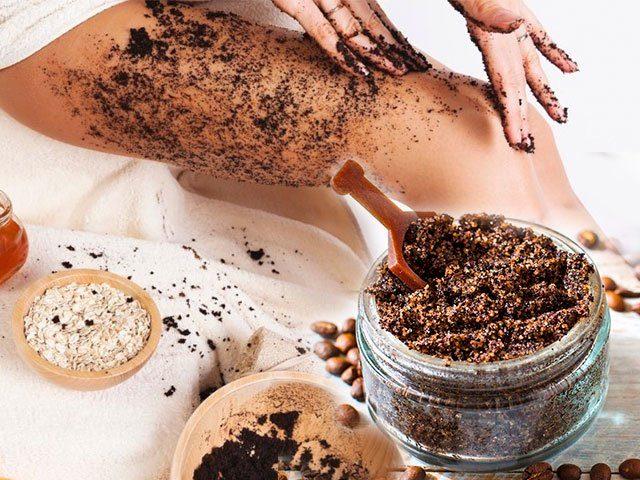 Кофейный скраб от растяжек. Рецепты приготовления